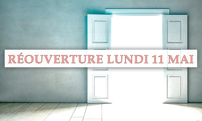 Reouverture cabinet hypnose Paris 02 Covid-19